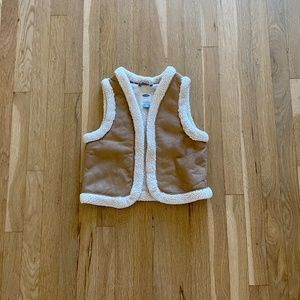 Old Navy faux suede vest
